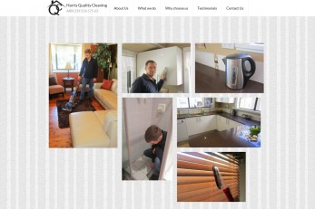 Our new website for Harris Quality Cleaning based in Dapto, near Wollongong. Our aim was a clean & neat design to reflect the business. We are always looking for new ideas, so this design is a single-page website with a random grid image gallery.