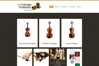 The Cottage ViolineryTamworthUser-friendly website layout, appealing design, and really easy navigation - these are the features we aimed for while building this young retail company's website.