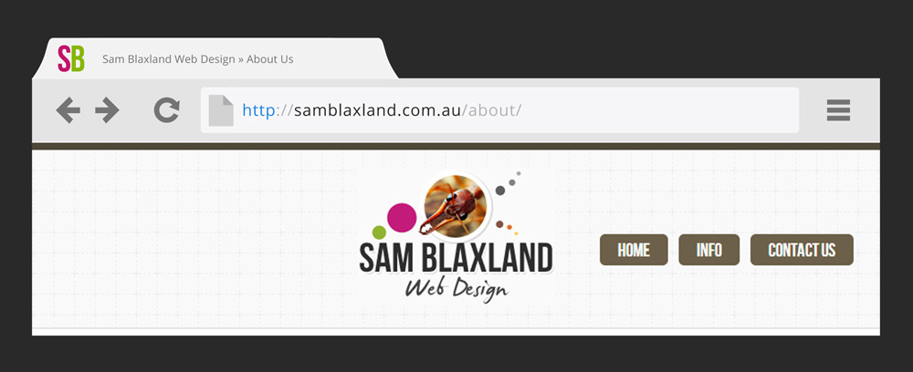 URL-in-browser-Sam-Blaxland-Web-Design-website